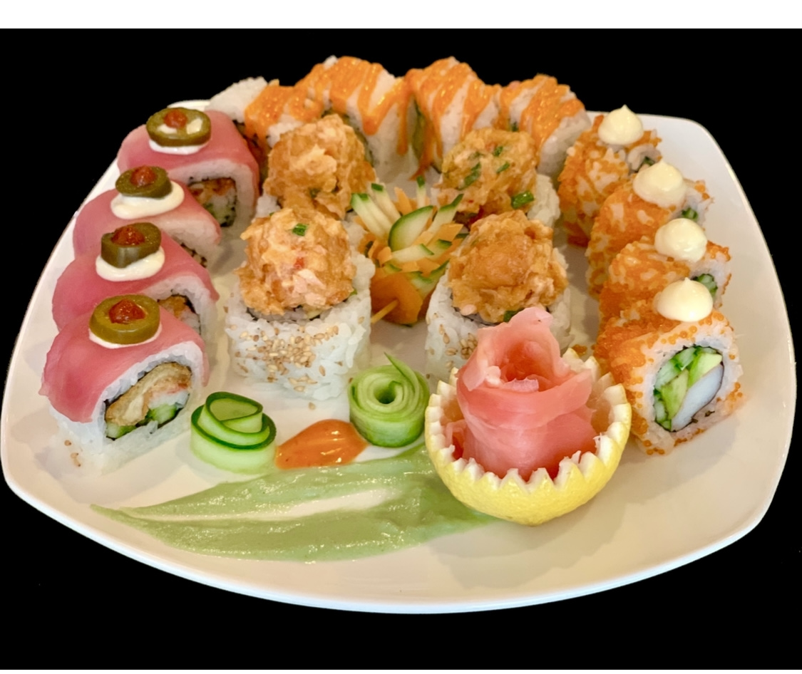 Sushi Roll Platter 16 Pieces