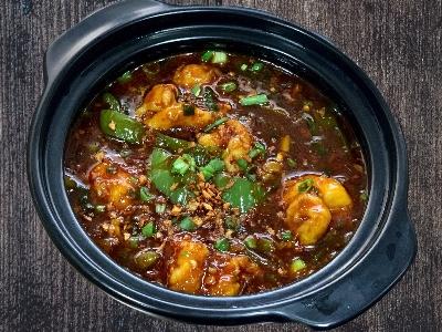 Thai Spicy Prawns Garlic Curry