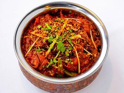 Lamb Kadai Gosht